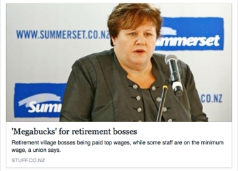 Megabucks for retirement bosses