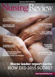 Nursing Review E-Edition 2015 cover
